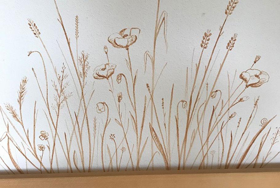 Wandgestaltung in der Küche